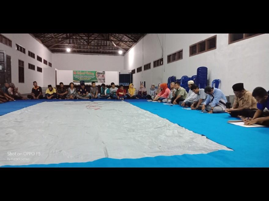Musyawarah Pembentukan Panitia HUT Desa Natai Raya yang ke-22